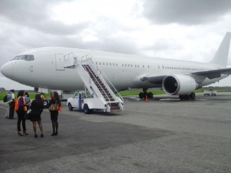 Travelspan's new 727/300 aircraft