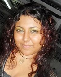 Sara Bharrat,  Blue CAPS member