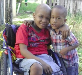 Javier Anderson and his brother Javaughn