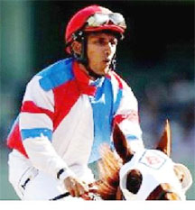 Jamaican jockey Rajiv Maragh.