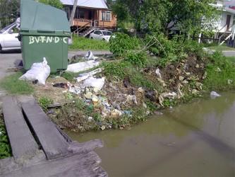A dumpsite in Beterverwagting