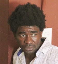 Accused thief Hosea Barker