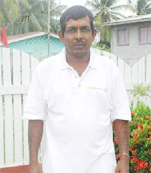 Essequibo Paddy Association Head  Naith Ram