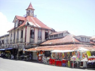 The rundown Kitty Market has been listed as a fire hazard by the Guyana Fire Service.