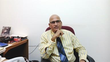 President of the Lusignan Golf Club (LGC), Jerome Khan