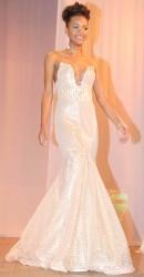 Denicia Williams's gown was called 'My Eldorado'