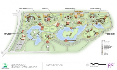 The concept design for the zoo