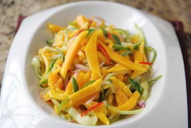 Mango Salad (Photo by Cynthia Nelson)