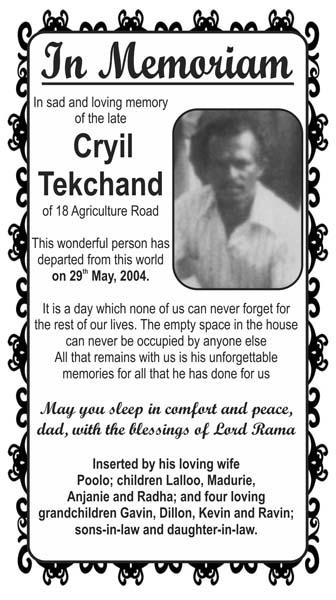 Cyril Tekchand