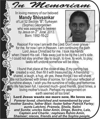 Mandy Shivsankar