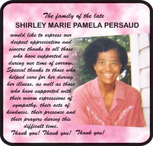 Shirley Persaud