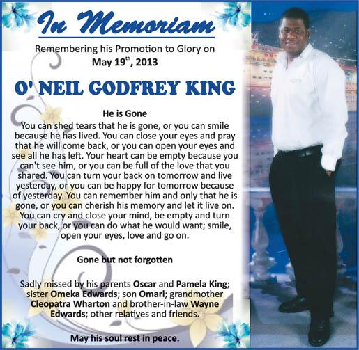 O'Neil King