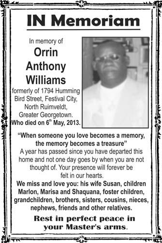 Orin Williams