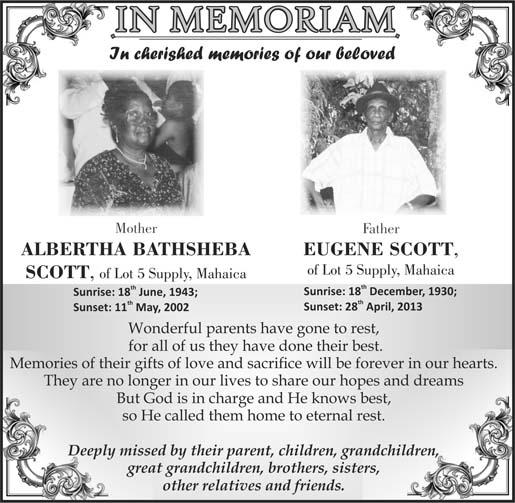 Albertha & Eugene Scott