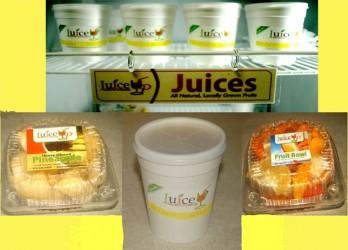 Juice Up display