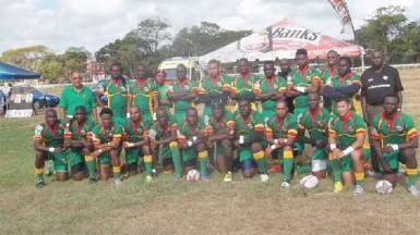 Guyana's 15s squad