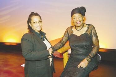 Maya Angelou with Sherry Dixon1