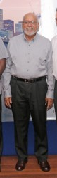 Having lost more than 25 pounds over the last two months, a trimmer President Donald Ramotar is pictured here at the launching of Dynamic Airways on Friday evening.