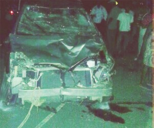 The car that was involved in the accidents