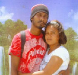 Shelly Persaud, 25 (right) and her husband who is now in custody, Vindra Persaud, 31