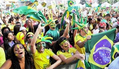 World Cup fever in Brazil