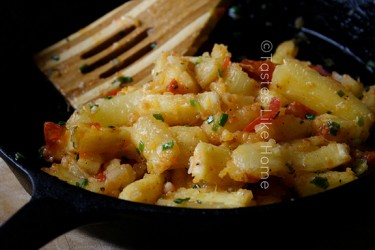 A taste of home: Boil 'n Fry Cassava (Photo by Cynthia Nelson)