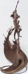 Winslow Craig's 'Saving Seeds'  3rd Prize in Sculpture, GVACE 2012