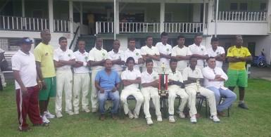 Victorius Demerara U-17 team.