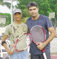 Chethan Narayan (right) and Harry Panday after their encounter