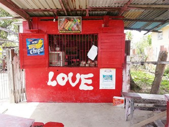Veronica Calder's shop known as 'Love'