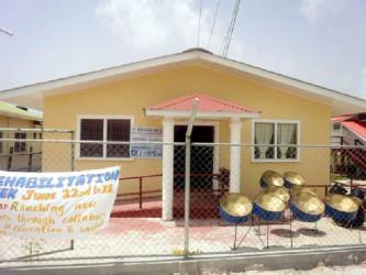 The $11.3 million Rehabilitation Centre at Suddie Hospital.
