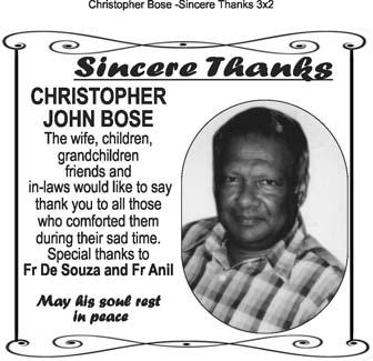 Christopher Bose