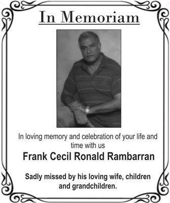 Frank Rambarran