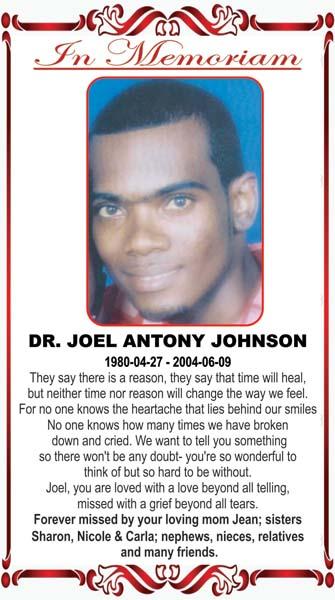 Dr Joel Johnson