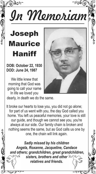 Joseph Haniff