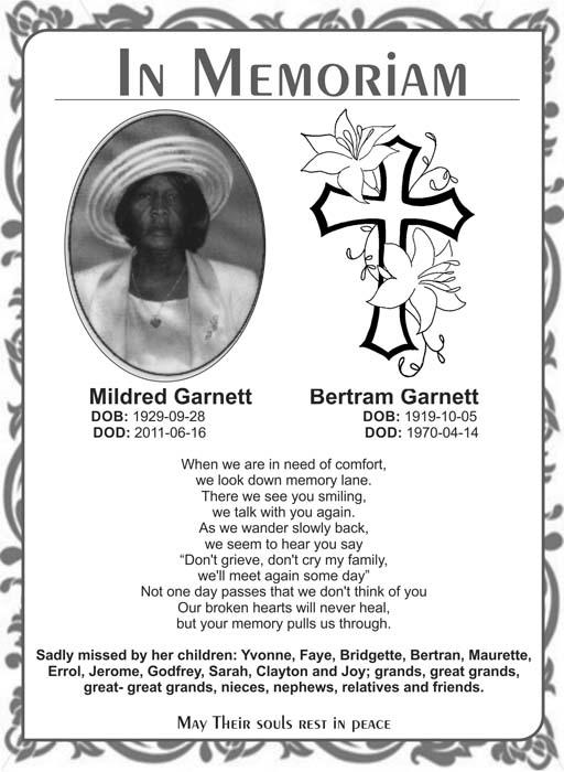 Mildred & Bertram Garnett