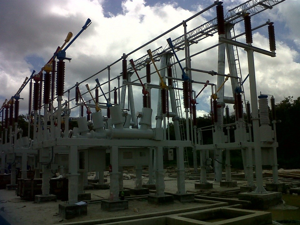 A section of the newly upgraded and expanded Onverwagt Substation