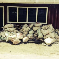The 1.2 tons of high-grade cannabis seized yesterday