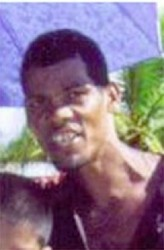 Andrew Gopie, one of the four missing fishermen whose body washed up at Good Faith, Mahaicony