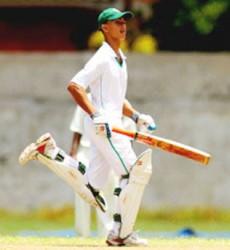 Tagenarine Chanderpaul's century boosted Guyana's chances of claiming its thirteenth regional u-19 title.
