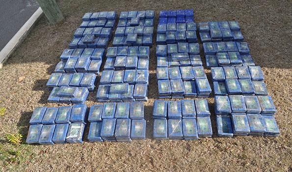 The seized cocaine (ONDCP photo)