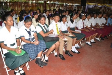 A batch of 67 youths graduated having completed their secondary education under the programme at various schools in the city. (GINA photo)