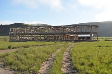 The superstructure of the Kato Secondary school building (GINA photo)
