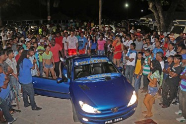 Part of the large gathering at the Lake Mainstay Resort for its 5th Annual Car and Bike Show which wowed the audience as they witnessed vehicle owners' love and passion for customizing and showcasing their creativity on Saturday.