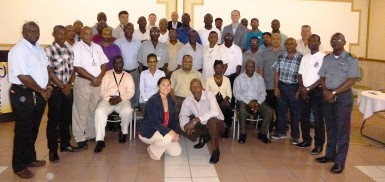 This US Embassy photo shows the participants.