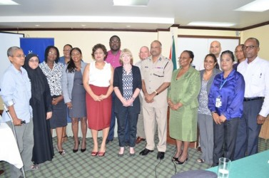 This GINA photo shows the taskforce and other stakeholders.