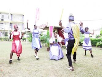 Brukins dance (Jamaica Gleaner)