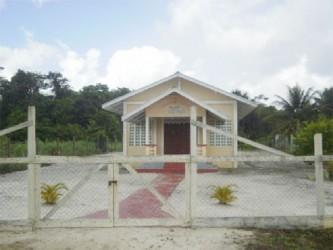 A church in the village