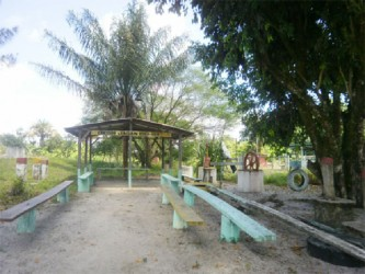 The Cheddi Jagan play park in Lima Sands