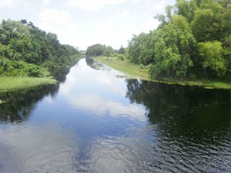 The main canal